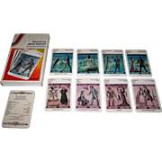 """VASS/dtv """"Kennst du diese Opern?"""" (""""Do you know these Operas?"""") Quartet Card Game w/ Book, Richard Heinrich Card Designs, c.1985"""
