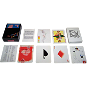 "Carta Mundi ""The Deck of Cards"" Playing Cards, Andrew Jones Art Publisher, Various Artists Designs, c.1979"