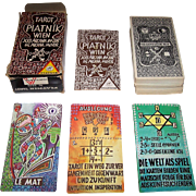 "Piatnik ""Tarot Wien"" Tarot Cards, Rudolph Pointer Designs, c.1974"