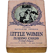 "Western ""RKO Little Women"" Playing Cards, Katherine Hepburn, Joan Bennett, et al., Hollywood Series, c.1933"