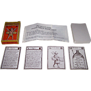 "Merrimack ""Ancient Fortune Telling Cards,"" John Lenthall Reprint (c.1717), James Moxon Original Designs? (""Astrology,"" c.1676), c.1980s"