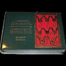 "Piatnik ""Ambraser Hofjagdspiel"" (""Ambras Court Hunting Deck"") Playing Cards, Ltd. Ed. Facsimile Set [Originals c.1440-1445], Original Suits, c.1995"