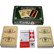 "Double Deck ASS ""Historic Munich"" (""Alt Muenghen"") Playing Cards, c.1978"