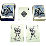 "Ets. Brepols, S.A. ""Souvenir de l'Atomium"" Playing Cards, Brussels Expo '58, c.1958"