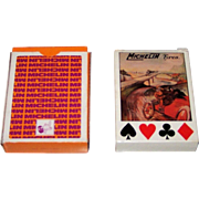 "2 Sets ""Michelin Tyres"" Playing Cards, $15/ea.: (i) Grimaud, c.1972; and (ii) RCI, c.1988"
