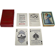 "USPC Congress 606 Whist Playing Cards, ""Debutante"" Backs, c.1920"