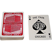 "USPC ""The Fair"" Playing Cards (52/52, NJ), ""The Fair Store"" Chicago, c.1930"