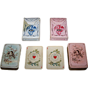 "Twin Decks Dondorf No. 163 ""Baronesse"" Playing Cards, Patience Size, c. 1905"