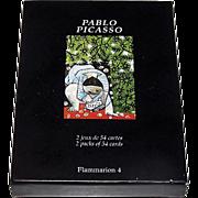 "Double Deck Carta Mundi (Flammarion 4) ""Pablo Picasso"" Playing Cards, [""Enfant Jouant avec un Camion"" and ""Claude Dessinant""], Musee Picasso, c1996"