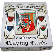 "ASS ""Medieval Heraldry Collectors' Playing Cards,"" Heraldic Times, Ltd. Publ., c.1992"