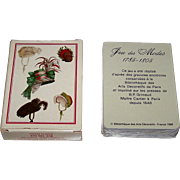 "Grimaud (France Cartes) ""Jeu des Modes 1785-1805"" Playing Cards, c.1989"