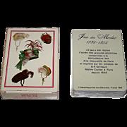 "Grimaud (France Cartes) ""Jeu des Modes 1785-1805"" Playing Cards, c.1989"