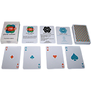 """N9 Innovations """"N9 Pure Silver"""" Playing Cards, Germ and Bacteria Free"""