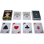 """""""Chi-Rho's"""" Playing Cards, New Suits Deck, Christian Symbology, Maker Unknown"""