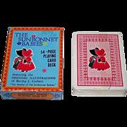 "Merrimack Publishing Corp. ""Sunbonnet Babies"" Playing Cards, c.1970s-80s"
