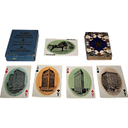 "Van Noy Interstate ""Texas Souvenir"" Playing Cards, c.1900"