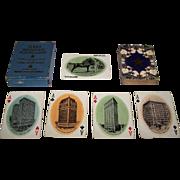 "Van Noy Interstate ""Texas Souvenir"" Playing Cards, c.1900"