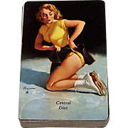 "Brown & Bigelow ""Central Dies"" Advertising Pin-Up Playing Cards, Gil Elvgren Designs, c.1940s"