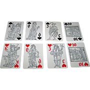 "Coeur ""Fortschritt I"" Playing Cards, Alfons Garn Designs, c.1979"
