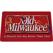 """Old Milwaukee"" Advertising Pin-Up Playing Cards, Maker Unknown"