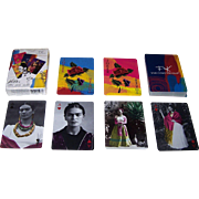 "Novelty Corp. de Mexico ""FK: Viva Como Piensas"" Playing Cards, Frida Kahlo"