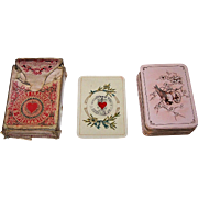 "Dondorf No. 163 ""Baronesse"" Playing Cards, Patience Size, c.1890s"