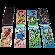 "Francois Gervais ""Dutch Railway"" Playing Cards, Ltd. Ed. (___/300), Francois Gervais Designs, Maker Unknown, c. 1995"