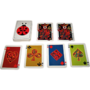 "Piatnik ""Rezegh Offset Druck"" Playing Cards, Ernst Insam Designs, c.1970"