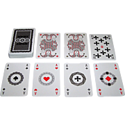 "Coeur ""Sket"" Playing Cards, Olaf Gruetzmacher Designs, c.1989"