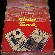 "Piatnik ""Tiroler Tarock"" No. 2849 Tarock Cards w/ Meinrad Pizzinini Book, c.1985"