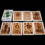 """Grimaud """"La Vie du Rail"""" Playing Cards, R de Moraine Designs, c.1978"""