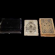 De la Rue Standard Deck w/ Exportation Ace, c. 1852-1862