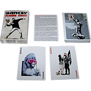 "Piatnik ""Banksy"" Playing Cards, Bird Playing Cards Publisher, Banksy Graffiti Art Designs"