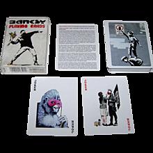 "Piatnik ""Banksy"" Playing Cards, Bird Playing Cards Publisher, Banksy Graffiti Art Designs"