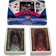 "Double Deck Coeur ""Oper II"" Playing Cards, Peter Becker Designs, c.1989"