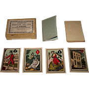 "Turner & Fisher ""American Fortune Telling Cards,"" Full Color Illustrations, c.1830s (?)"