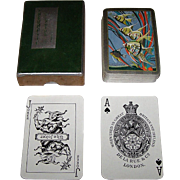 "De la Rue (Pneumatic) ""Angel Fish"" Playing Cards, Art Deco Design (Backs), c.1930"