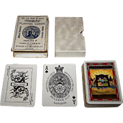"De la Rue (Pneumatic) ""P&O and British India Lines"" Maritime Playing Cards, ""The Eastern Highway,"" c.1925"