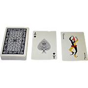 """Executive Deck"" (""Nixon Deck"") Playing Cards, Dr. Gordon Mercer and F.W. Smith Designs, Maker Unknown (Japan), c.1973"