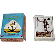 Merrimack Cotta Transformation Facsimile Playing Cards, c.1973
