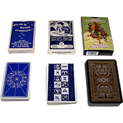 "3 Decks of Fortune Telling Cards, $15/ea.: (i) Heron ""Jeu de la Bonne Aventure""; (ii) Piatnik ""Jeux de la Fortune""; and (iii) Lo Scarabeo ""Gypsy Oracle Cards"""