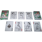 "Tactic Games Oy (Finland), ""Colour In: Pin-Up"" Playing Cards"