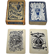 "Standard Playing Card Co. ""Buster #10"" Patience Playing Cards, c.1900"