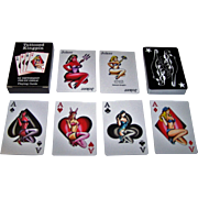 """Troy Timpel """"Tattooed Kingpin"""" Pin-Up Playing Cards, Troy Timpel Designs"""