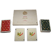 "Double Deck Fournier ""Romance Espagnol"" Playing Cards, C.S. de Tejada Designs, c.1953"