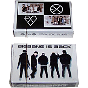 "2 Decks ""K-pop"" Playing Cards, ""Big Bang"" and ""Exo"", $15/ea."