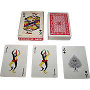 """""""Executive Deck"""" (""""Nixon Deck"""") Playing Cards, Dr. Gordon Mercer and F.W. Smith Designs, Maker Unknown (Japan), c.1973"""