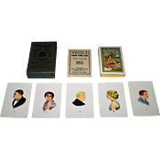 """USPC """"Teuila"""" Fortune Telling Cards, Isobel Strong Field Copyright Designs, c.1923"""