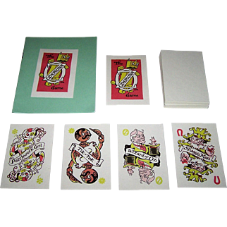 "International Wizard of Oz Club ""The Ozmopolitan Game,"" Dick Martin Card Game, c.1986"