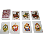 "KZWP ""Odsiecz Wiedenska 1683"" (""Battle of Vienna 1683"") Playing Cards, c.1983"
